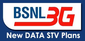 BSNL 3G Mobile Data STVs