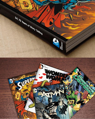 DC Comics New Logo on Comic Books and Graphic Novels