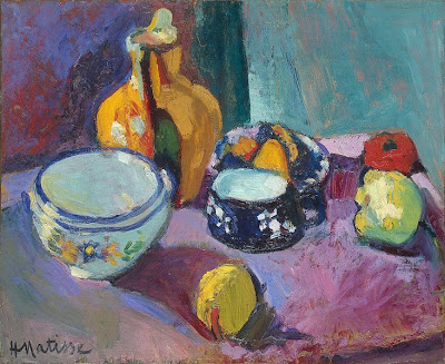 Henri Matisse, Dishes and Fruit, 1901