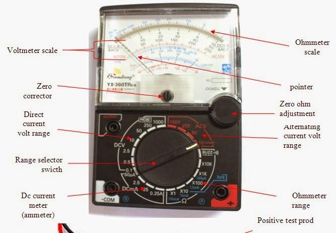 Noypi Electronics: Volt Ohm Meter