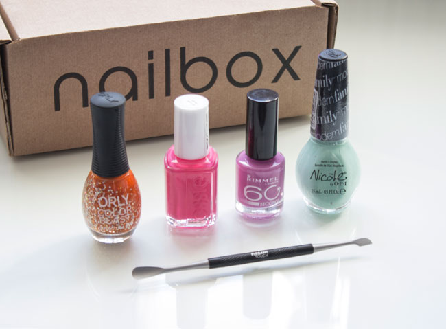 Introducing Nailbox: The UK's First Exclusively Nails Subscription Box