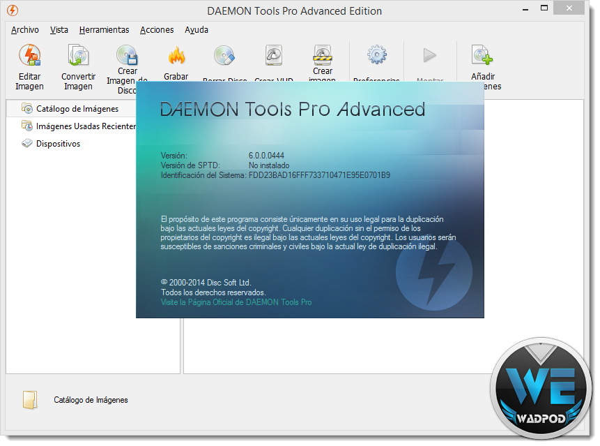 DAEMON Tools Pro Advanced 6.0.0.0444 Multilingual Terbaru http://jembersantri.blogspot.com Full Version Screen Shot