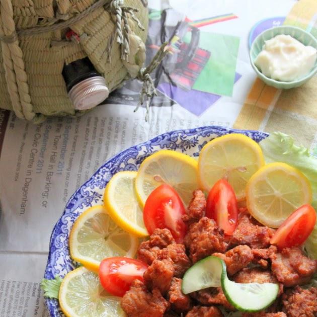 My Cookingdom: Japanese Fried Chicken {Tori Karaage}