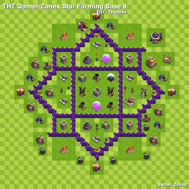 TH7 Gamer-Zonex Star Farming Base 8