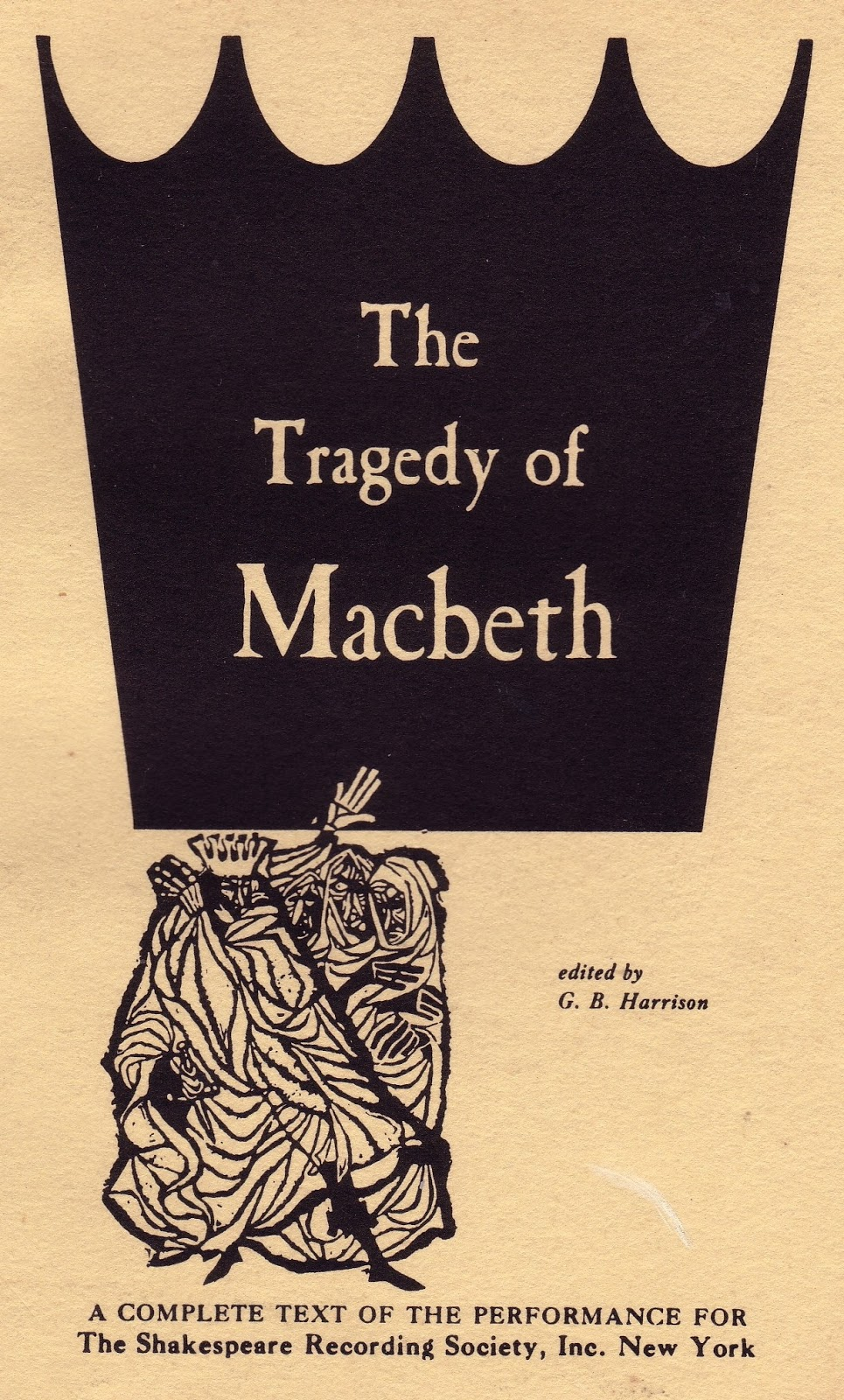 an analysis of darkness in william shakespeares tragedy macbeth Free essay: use of the supernatural in macbeth in shakespeare's play the tragedy of macbeth, shakespeare uses an underlying motif of the supernatural to.