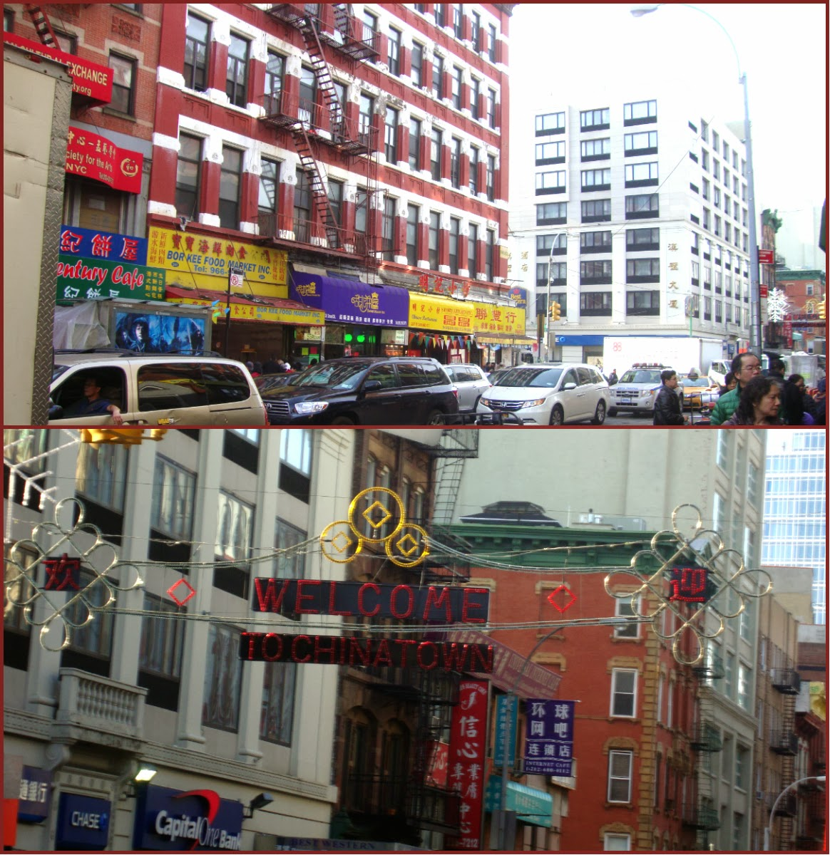 Chinatown During Christmas 2014