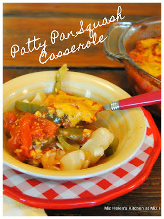 Patty Pan Squash Casserole