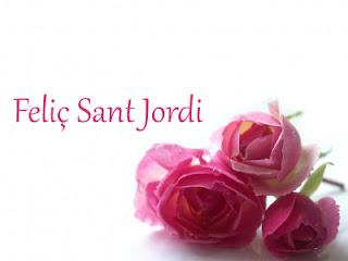 Rosas rosas para Sant jordi