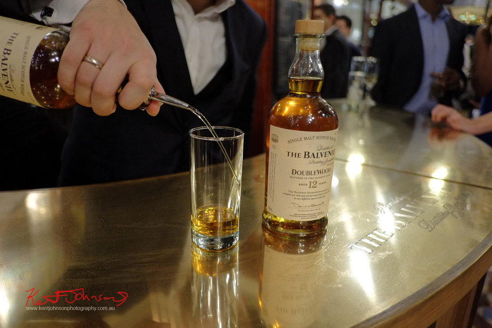 Pouring The Balvenie Pop-Up at the Strand Arcade. Unique Sydney Event Photography