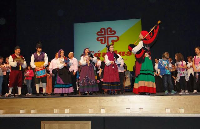 Gala benéfica Siero Baila por Cáritas