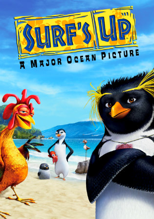 Poster of Surf's Up (2007)  Dual Audio 720p