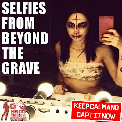 Selfies from beyond the crave