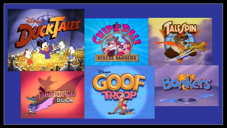 Cartoni animati tv disney