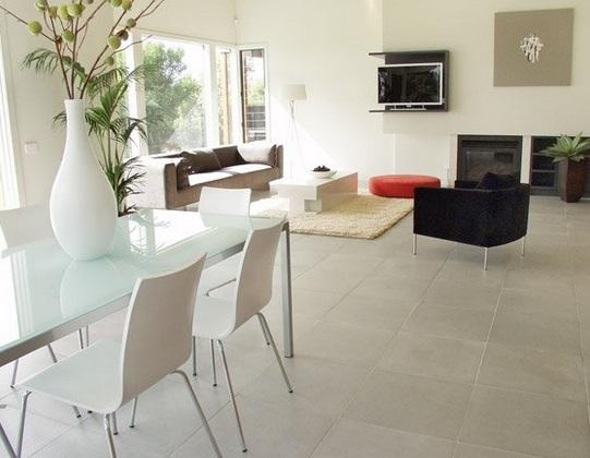 Elegir el piso o solado para el living y el comedor for Pisos para comedor