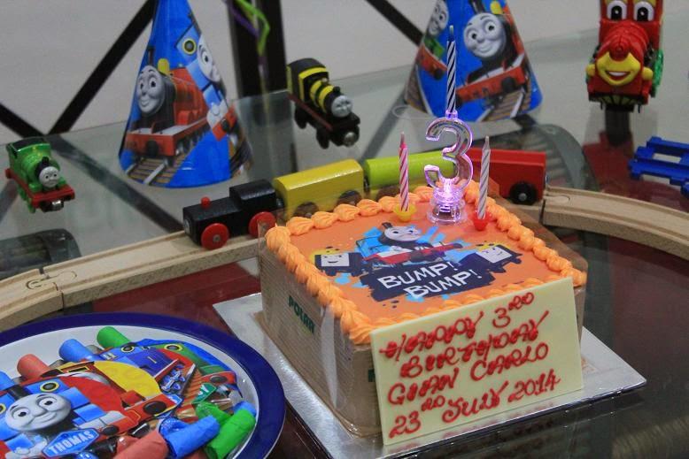 Cherry Berry Thomas The Train Cake