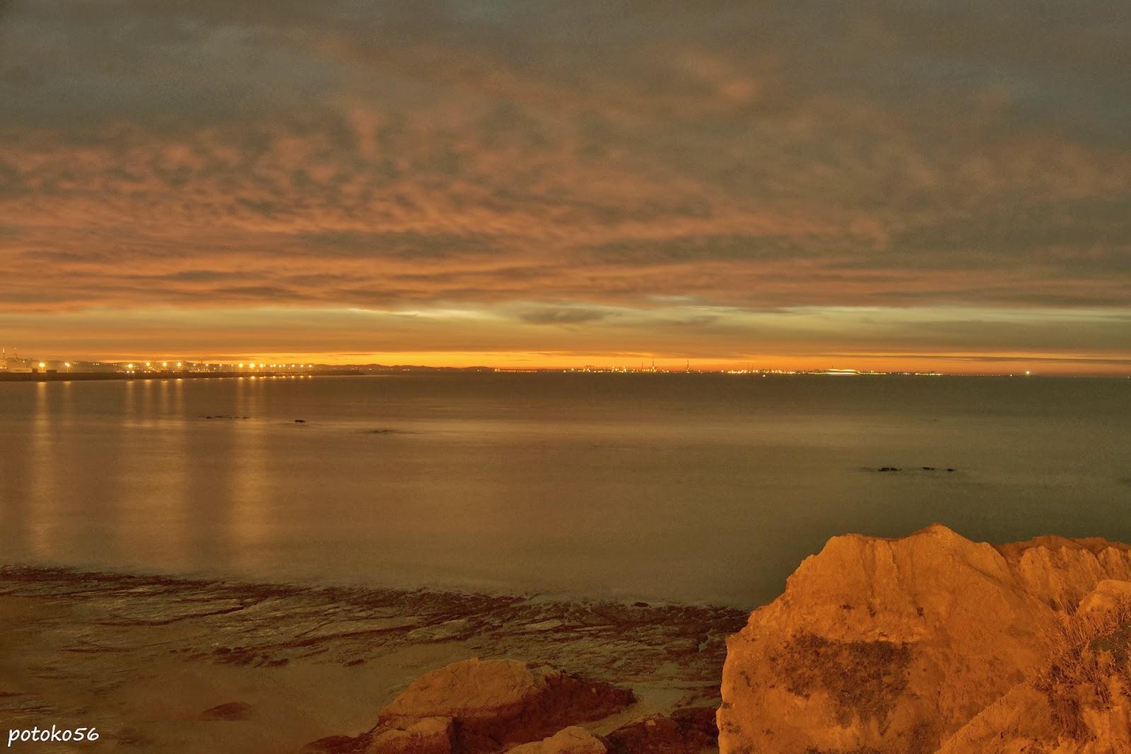 31-12-2013 amaneciendo en Rota