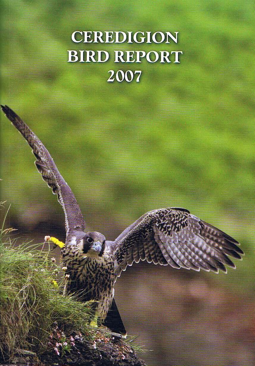 Ceredigion Ringing Report 2006-2007