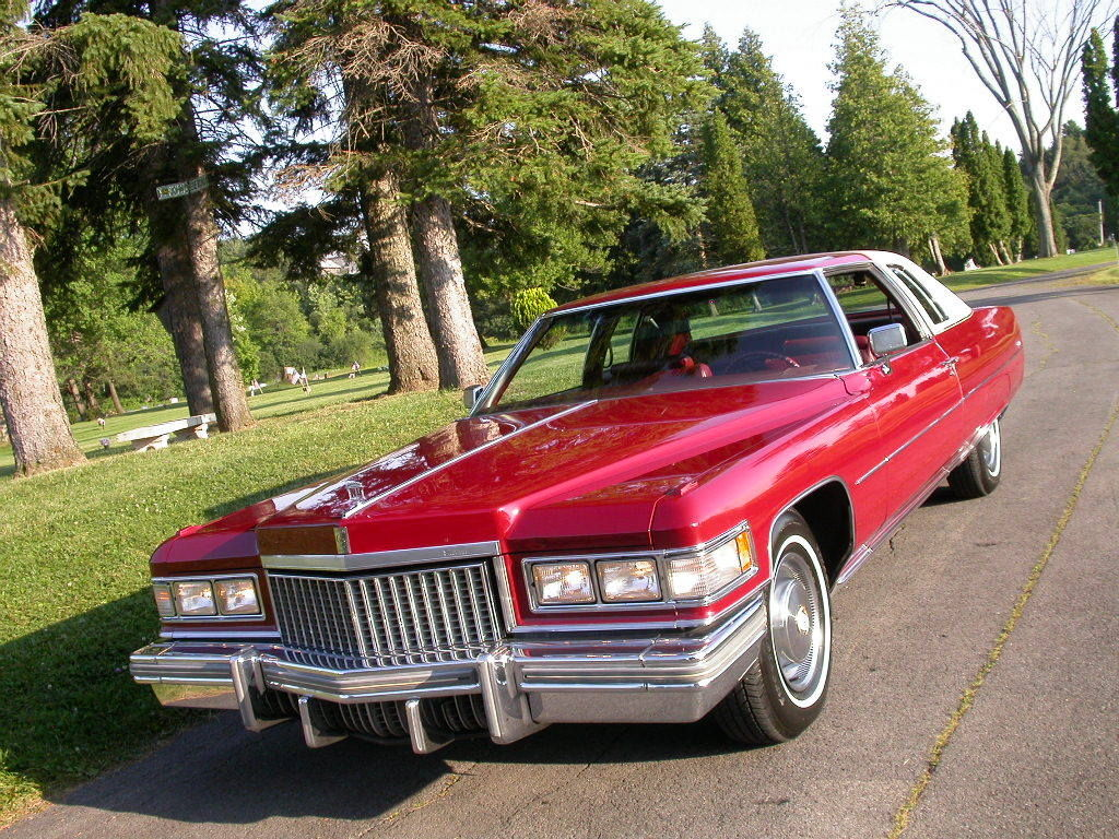 All american classic cars 1975 cadillac coupe de ville 2 for American classic cars