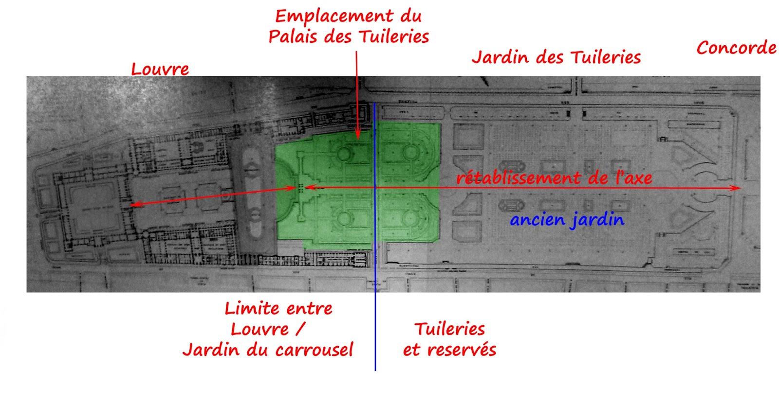 L 39 ann e du jardinier je n 39 aime pas le jardin des - Plan detaille du jardin des tuileries ...