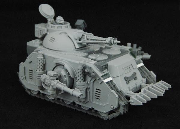 Warhammer 30k Sons of Horus  SOH+Predator+WIP+03