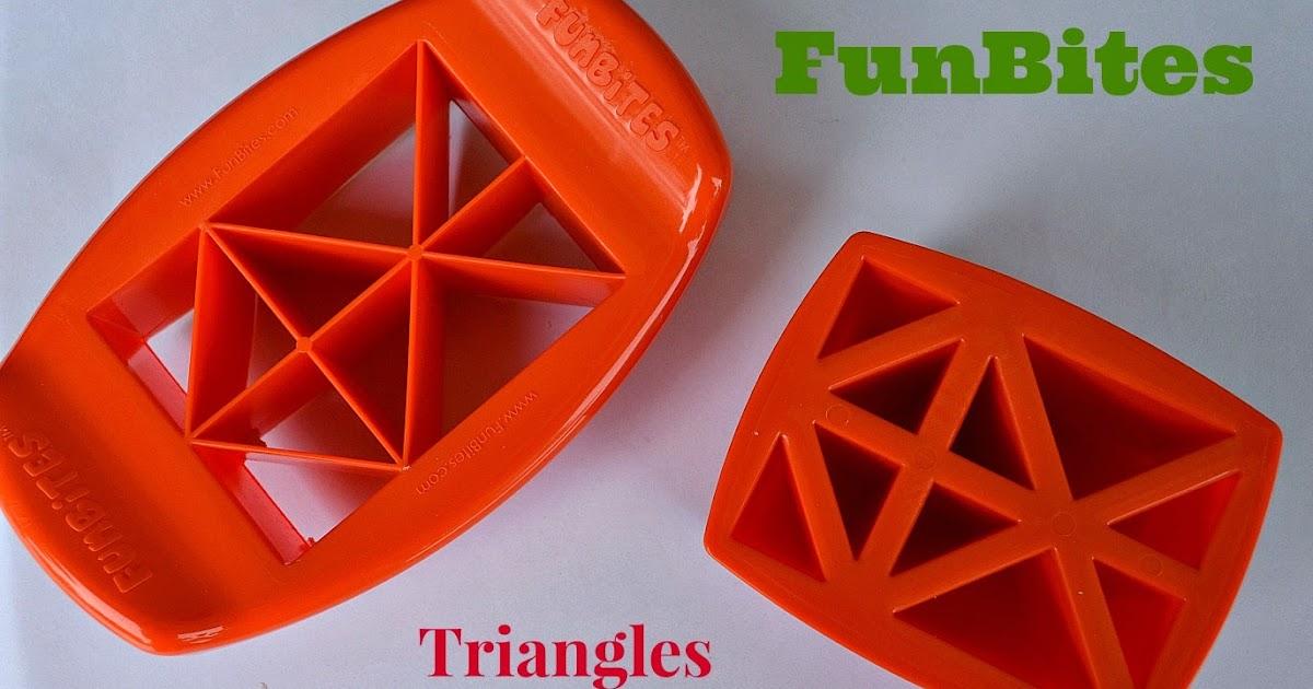 Funbites triangles giveaway becoming a bentoholic for Funbites