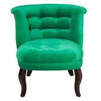 emerald pantone chair