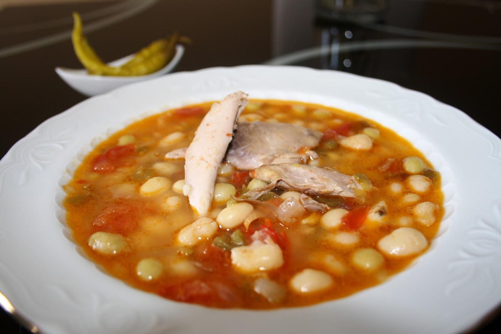 Alocados en la cocina receta f cil de pochas congeladas - Alubias con codornices ...