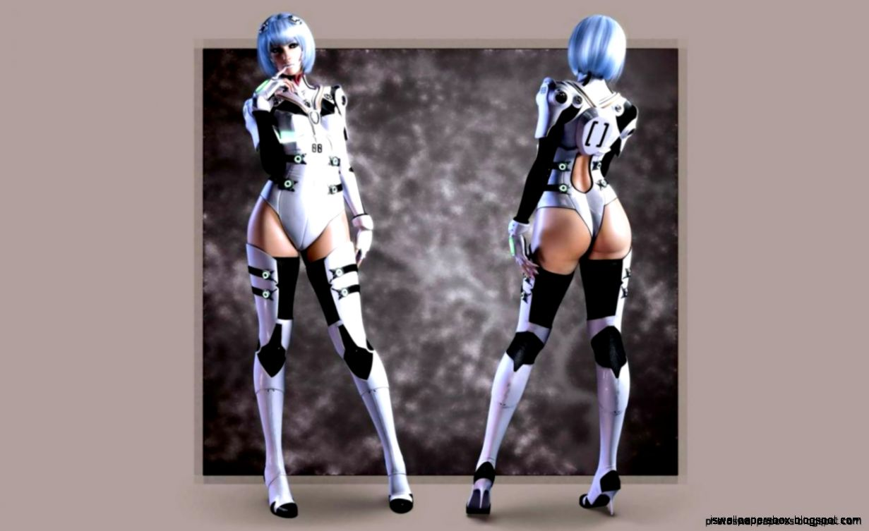 girl robot wallpapers - photo #2