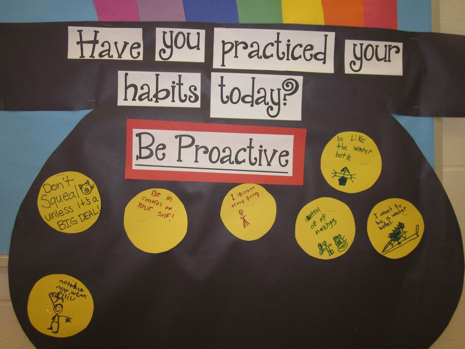 Confessions of a school counselor the 7 habits of happy kids for 7 habits decorations