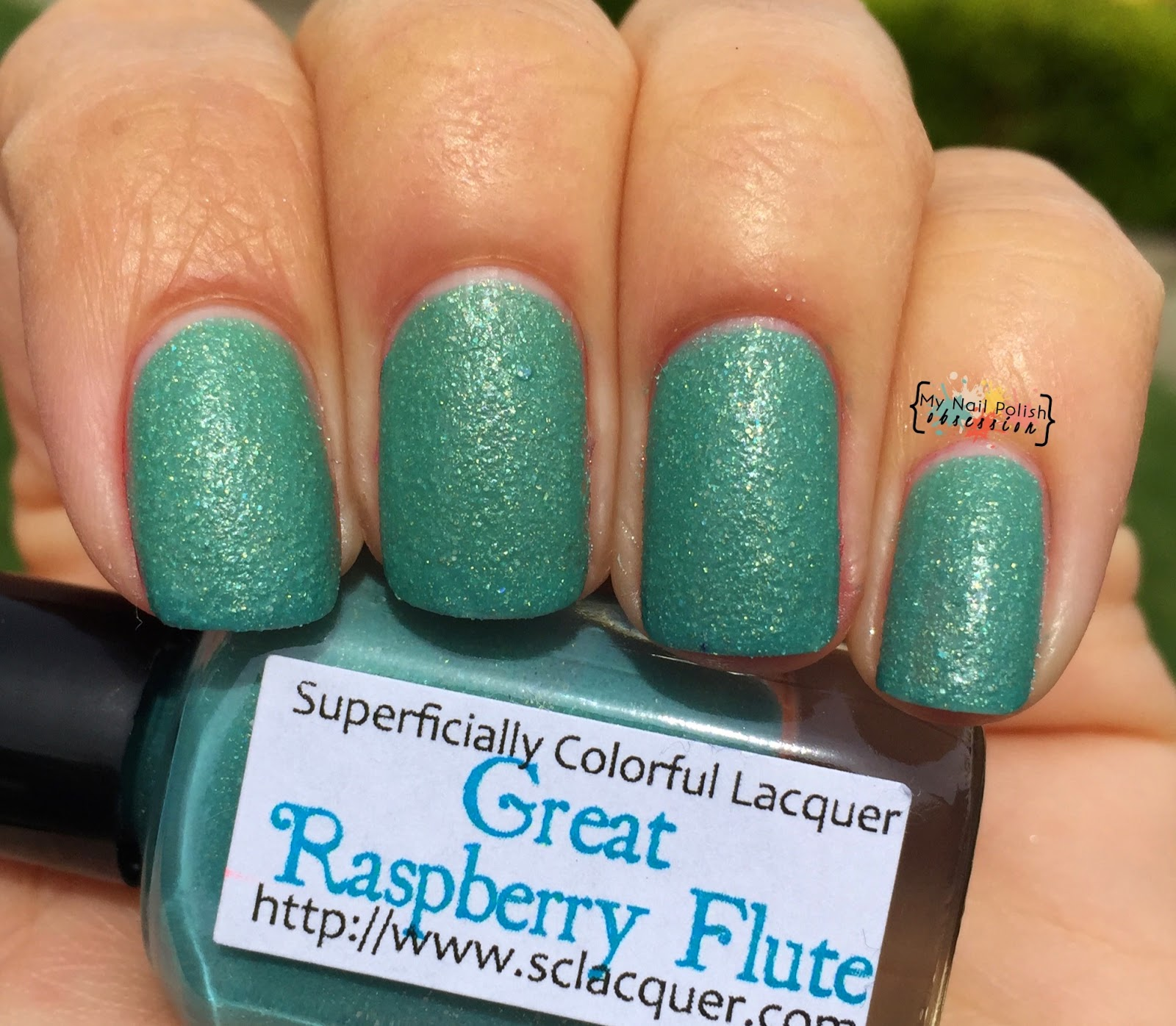 Superficially Colorful Lacquer Great Raspberry Flute