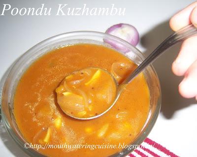 Poondu Kuzhambu