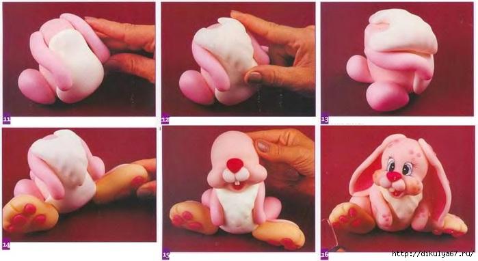 Фигурки из мастики своими руками пошагово фото