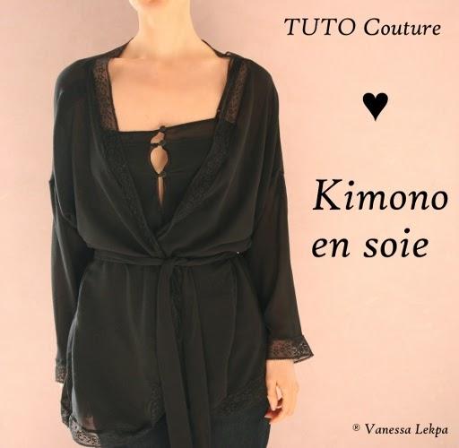 explication tuto Diy faire sa lingerie kimono