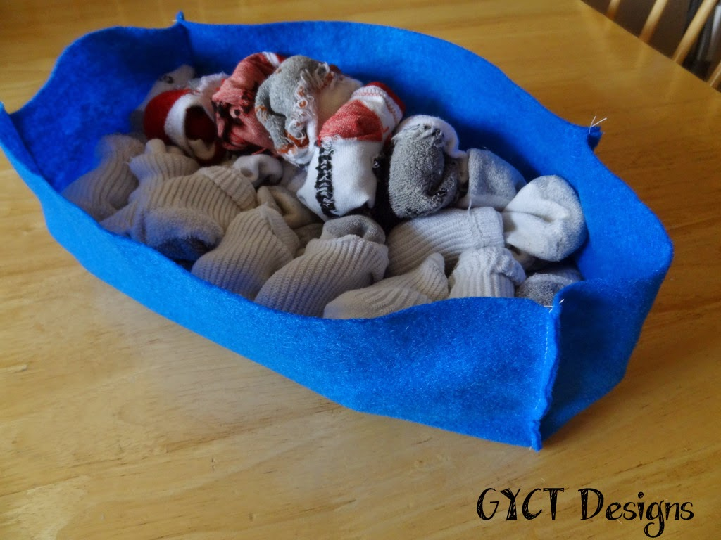 Sock Organizer Tutorial by GYCT