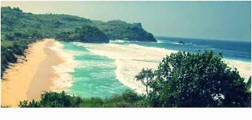 Pantai tambakrejo - tempat wisata alami di blitar