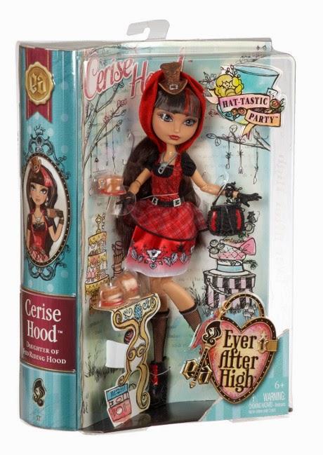 TOYS : JUGUETES - EVER AFTER HIGH   Hat-tastic Party - Cerise Hood | muñeca & doll   La fiesta sombretástica  Producto Oficial 2014 | Mattel BJH33 | A partir de 6 años