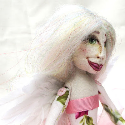 ooak cloth art doll