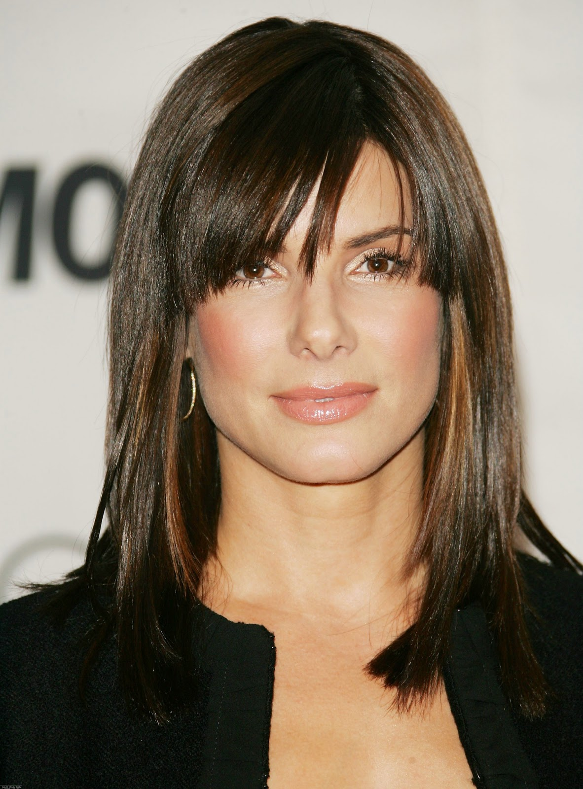 Sandra Bullock with Different Hairstyle