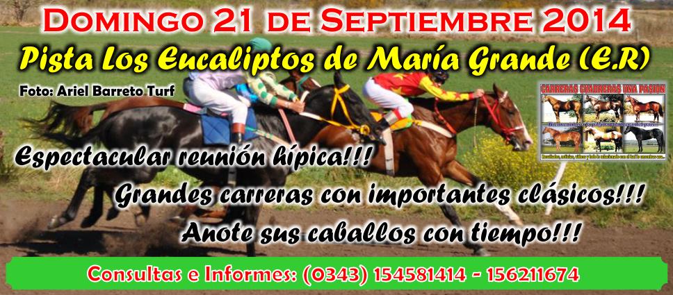 MARIA GRANDE - REUNION 21.09.2014