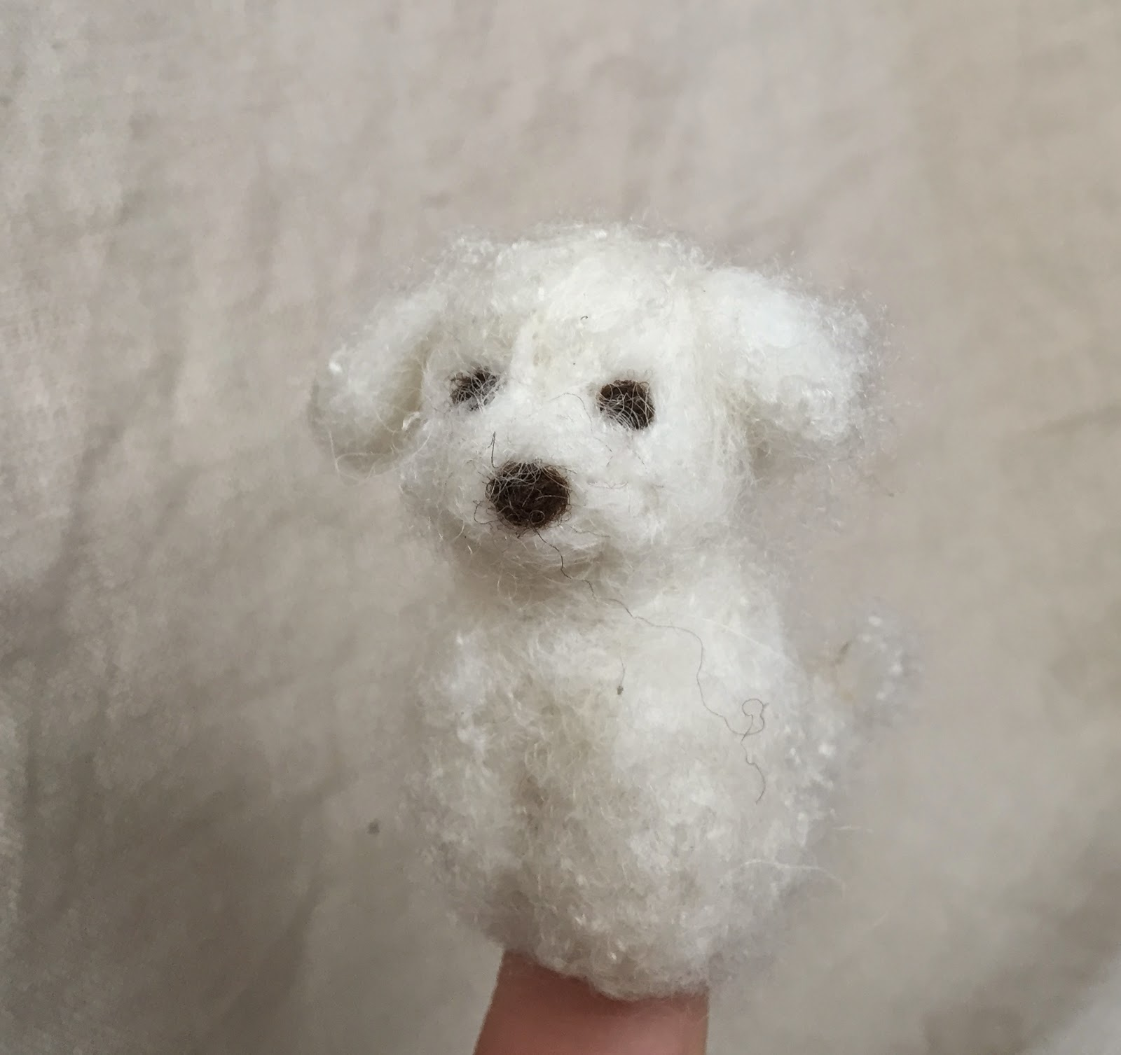 LIttle Dog Finger Puppet