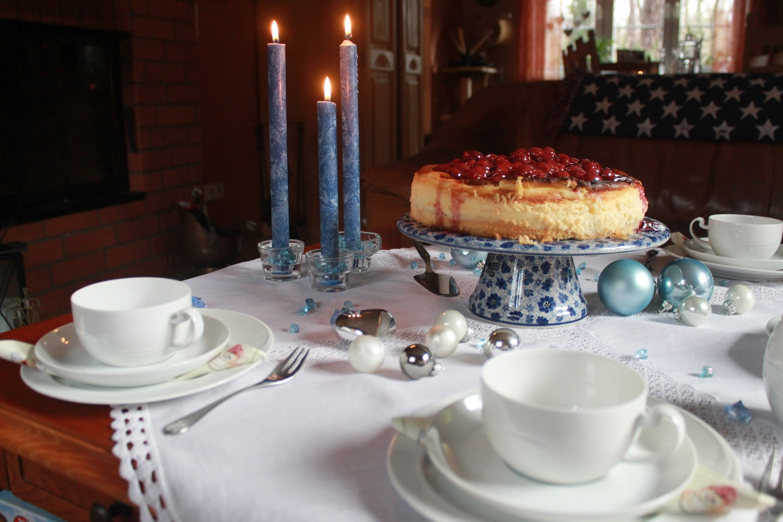 Suppertabletalk A Cheesecake For Tablescape Thursday