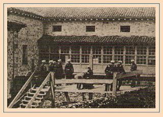 Ejecucion en 1897 de Michelle Angiolillo por el asesinato de Canovas del Castillo