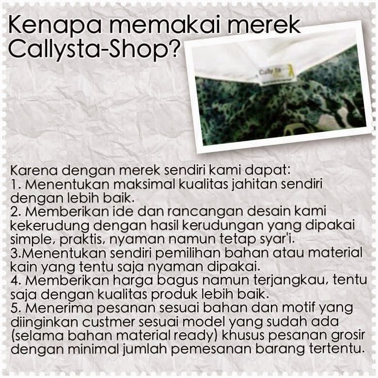 Label Callysta-Shop