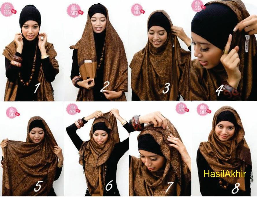 Tutorial Model Hijab Terbaru