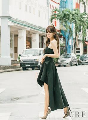 Kim So Yeon - Sure Magazine January 2016