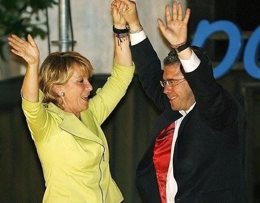 esperanza aguirre, francisco granados, partido popular, corrupción, madrid, gobierno