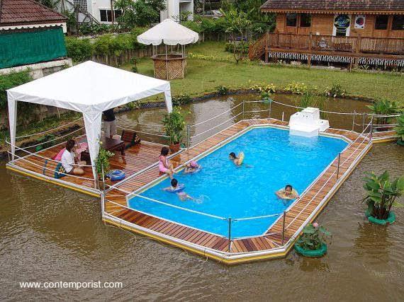 Arquitectura de casas distintos tipos de piscinas for Tipos de piscinas para casas