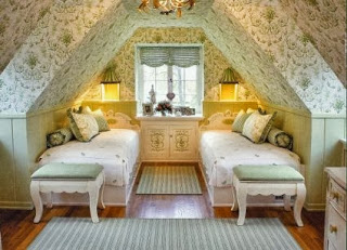 Turn the attic into a room