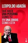 Libro, Qué hace una persona como tú en una crisis como esta