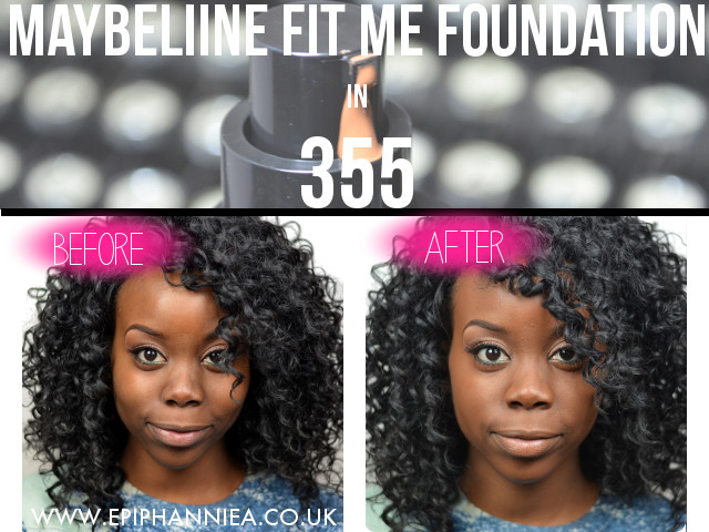 Maybelline Fit Me Foundation in 355 Coconut